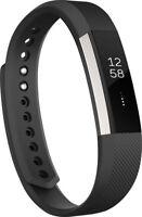 BRAND NEW Fitbit Alta  Fitness Wristband Tracker - BLACK LARGE #FB406BKL