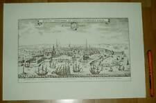 Kopenhagen Kobenhavn alte Ansicht Merian Druck Stich 1650 (schw)