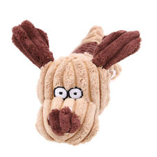 Hot Sale Puppy Shape Pet Dog Cat Biting Chew Funny Toy Squeaker Squeaky Plush
