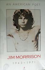 "Jim Morrison - An American Poet 1943 - 1971 Poster (22.25""W x 34.5""H) (New)"