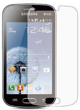 3 frontales Transparente Pantalla Lcd Display Film Protector De Samsung Galaxy Trend Gt-s7560