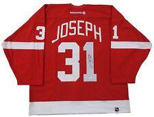 Curtis Joseph Autographed Authentic Koho Detroit Red Wings Home Jersey - JSA COA