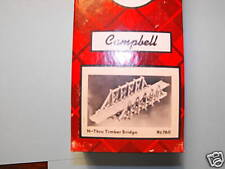 thru timber trestle N SCALE BY CAMPBELL #760
