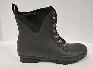 Roma Evol Rain Boot, Black, Womens 8 M