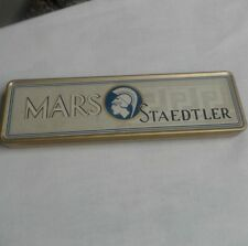 Vintage Mars Staedtler Tin Pencil Box