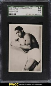 1936 Ardath Photocards Boxing Joe Louis SGC 5.5 EX+