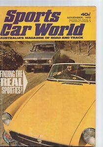 Sports Car World 1972 November Torana XU-1