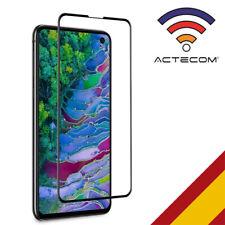 ACTECOM PROTECTOR PANTALLA Samsung Galaxy S10e NEGRO completo CRISTAL TEMPLADO
