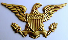 "Brass Eagle Decoration size 3-1/4"" wide for Clocks and Boxes ( 1 Pieces )"