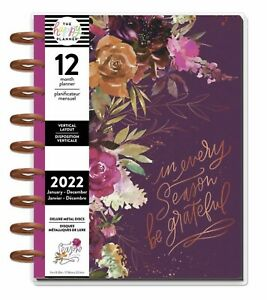 The Happy Planner In Every Season 2022 Classic Vertical Planner METAL DISCS