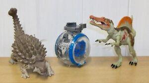 Jurassic World - Ankylosaurus, Spinsoaurus & Gyro-Sphere (Gyrosphere)