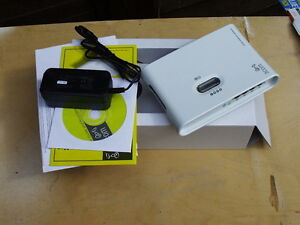 3Com Home Ethernet Gateway 3C510-E1 BOXED DSL/cable with printer 4 port 100 Mbps