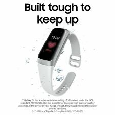 Samsung Galaxy Fit Smart Watch - Silver-Water Resistant