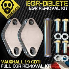 EGR DELETE blanking plate Vauxhall Astra Vectra Zafira 1.9 CDTi 8v Z19DTL Z19DT