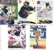 TONY GWYNN  (5) CARD VARIOUS SAMPLE CARDS    SEE LIST & SCAN  FREE COMBINED S/H