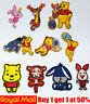Winnie the pooh Friends Iron On / Sew On Patch Badge