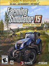 Farming Simulator 15: Gold Edition PC BRAND NEW FACTORY SEALED