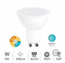 Bombilla GU10 inteligente Led Wifi 8w Intesidad+color Regulable 2700-6500k