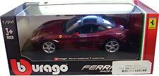 BURAGO 1/24 DIECAST MODEL FERRARI CALIFORNIA T CLOSED TOP BU26002
