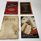 4x Vintage 1930's Historical Original Antique Cook Books Cookbooks Canada