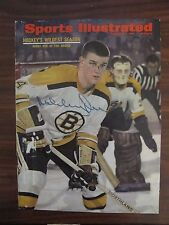 Bobby Orr SIGNED (AUTOGRAPHED) 1967 Sports Illustrated Cover.