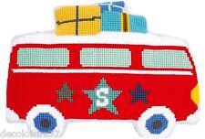 VERVACO  0150422  Kit  Coussin au Point Noué  En vacances en bus