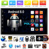 "Quad Core Android 8.0 3G WIFI de 7 ""Doble 2DIN Car Radio estéreo MP5 GPS Player"