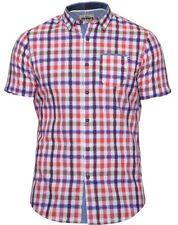 Mish Mash Oakham Pink Orange Shirt £23.99 BIG SIZES 2xl 3xl 4xl 5xl 6xl
