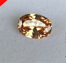 UNHEATED CHAMPAGNE SAPPHIRE 13x18MM 19.36CT OVAL DIAMOND CUT AAAA+ LOOSE GEMS.