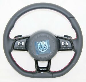 NEW GENUINE VW GOLF ARTEON PASSAT TIGUAN TOURAN GTI COMPLETE STEERING WHEEL