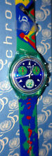 Unlimited SCZ103 Swatch Special Chrono year 1995 signed box