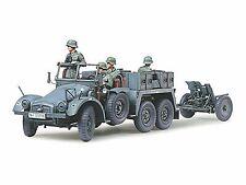Tamiya 1/35 Military German Army Krupp Protze 6x4 Kfz.69 Towing Truck 37mm Pak