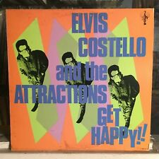 [Rock/Pop]~Exc Lp~Elvis Costello & The Attractions~Get Happy!~[1980~Cbs~Issue]