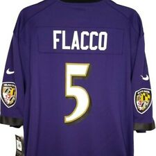 d1b7c372 Joe Flacco Baltimore Ravens Football Jersey Nike on Field NFL Game Size 2xl