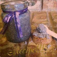 """☆""""Recipe""""☆H omemade Lavender Vanilla Sugar Scrub☆Homemade for Special Occasions!☆"""