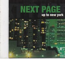 Next Page -Up To New York cd single