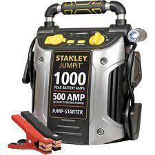 Portable Jump Starter 500 Amp 1000 Peak Battery Power Car Truck RV Jumper Box