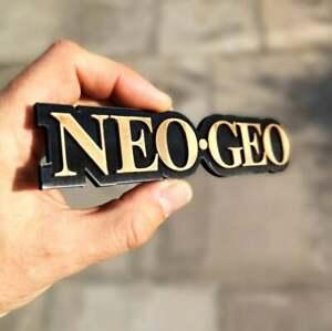 Neo Geo 3D logo / shelf display / fridge magnet - gaming collectible