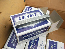 "90,000 Duo Fast Staples  6616C 1/2"" Crown 1/2"" Length Galvanized"