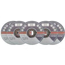 5 Stck. Trennscheiben Ø125 mm Flexscheiben Inox Edelstahl Metall Blech Extradünn