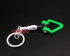 JDM TOY Sports MINI Tow Hook Ring KEYCHAIN Shape Towing Key Chain For Car Key