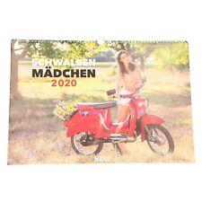 Kalender Schwalbemädchen 2020 Erotikkalender Simsonkalender 978-3-95843-852-1