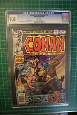 CONAN THE BARBARIAN #97 CGC 9.8  WHITE PAGES BUSCEMA/CHAN ARTWORK/COVER