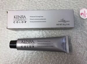 KENRA PERMANENT Hair Color Cream Gold Booster Gold Color 3 oz