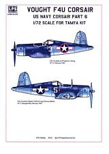 LPS Decals 1/72 VOUGHT F4U CORSAIR U.S. Navy Fighter Part 6