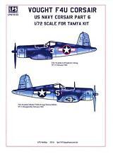 LPS Decals 1/72 VOUGHT F4U CORSAIR U.S. Navy Fighter Part 6