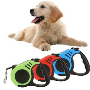 5M Dog Walking Rope Retractable Extension Pet Traction Line Tape  Automatic