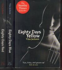 Eighty Days Yellow, Blue, Red by Vina Jackson 3x P/B