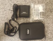 Vivitar small camera case ,memory card wallet and usb cable