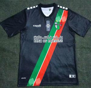 NEW 2021-22 Palestino Home Soccer Jersey Short Sleeve Man Tshirt S-XXL